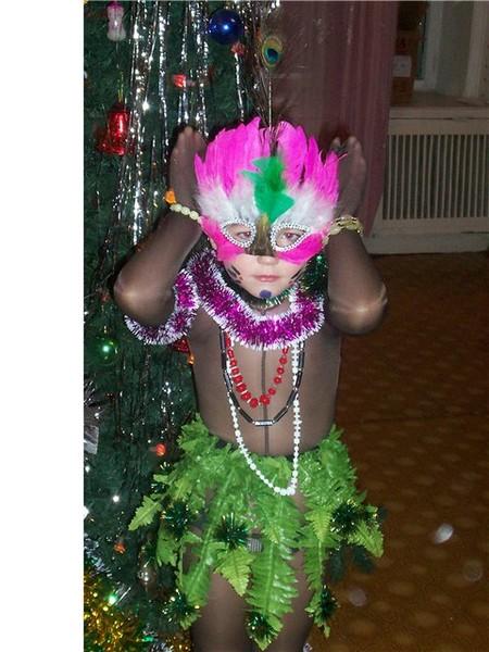 Новогодние костюмы папуаса своими руками